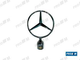 Accesorios 123202 - Recambio estrella Mercedes antirrobo c/bola