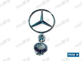 Accesorios 202210 - Estrella Mercedes antirrobo W 123-124-126-201