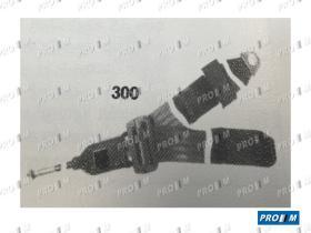 Accesorios 300/30 - Cinturón trasero automático universal 4 puntos