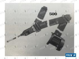 Accesorios 500/15/30 - Cinturón estático 3 puntos 30cm rojo