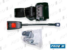 Accesorios 500/15/30 - Cinturón estático delantero 3 puntos y barra de 45cm