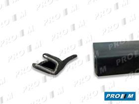 Accesorios H517 - Burlete negro pequeño adhesivo universal