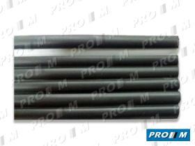 Accesorios MO103 - Junquillo aleta goma negra universal