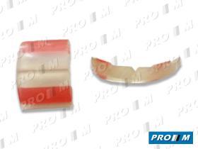 Accesorios PG003TR - Moldura transparente paragolpes 32mm universal