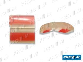 Accesorios PG004TR - Moldura transparente paragolpes 32mm universal