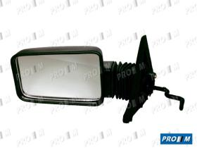 Espejos 6101352 - Espejo Citroen BX izquierdo -86 mecánico c/ mando