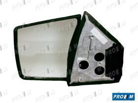 Espejos 6101902 - Espejo izquierdo con mando cristal azul Lancia Dedra