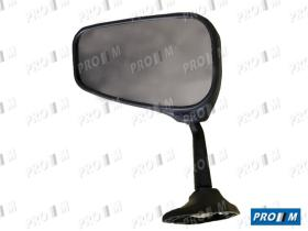 Espejos < año 2000 521 - Espejo de puerta Seat 131 izquierdo metalico ->78