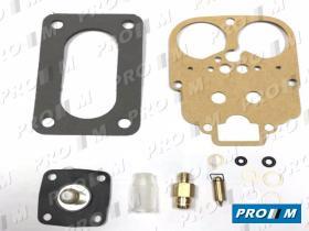 Juegos reparación carburador C6R - Juego reparacion carburador Citroen AX 1.4 Weber 34 TLP