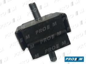 Caucho Metal 11009 - Juego de gomas de apoyo puente motor Seat 1500