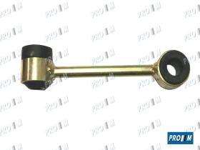 Caucho Metal 120581 - Juego de goma sujección cremallera direccion Renault 19-Clio