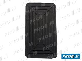 Caucho Metal 12120 - Goma pedal freno y embrague Renault  5-6-7-8-10