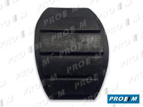 Caucho Metal 12134 - Goma pedal freno y embrague Renault 21-18 mod c/ tetón