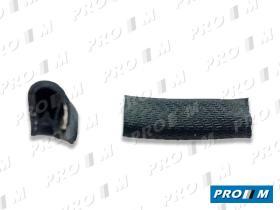 Caucho Metal 190017 - Goma contorno maletero Seat 124 Seat 1430 por metros