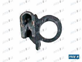 Caucho Metal 190020 - Burlete de puerta negro por metros