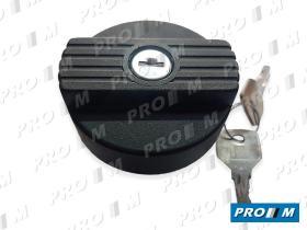 Caucho Metal 6036 - Tapón de gasolina universal