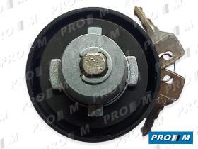 Caucho Metal 6100 - Tapón de gasolina universal