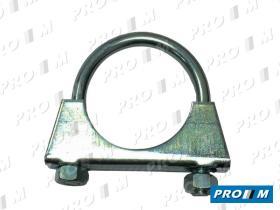 Caucho Metal AF-314 - Abrazadera de escape 58mm