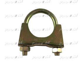 Caucho Metal AU-303 - Abrazadera silencioso universal 48mm