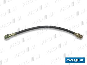 Caucho Metal LM-1303 - Latiguillo de freno delantero disco Mercedes MB100 380mm