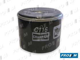 Champion C116 - FILTRO DE ACEITE