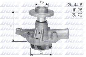 Dolz A121 - Bomba de agua Austin-Rover