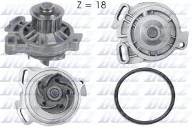 Dolz A176 -  Bomba de agua Audi 100 5 Cilindros