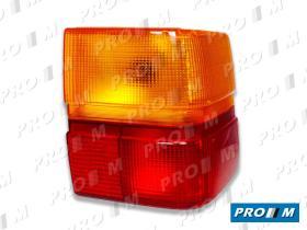 Hella 9EL126340021 - Placa portafaro izquierdo Opel Corsa