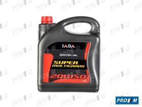 Iada 30506 - Super multigrado 20W50 5 Litros