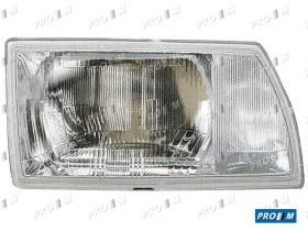 Pro//M Iluminación 11222121 - Faro derecho H1+H1 Citroen Zx