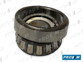 Pro//M Rodamientos 2027 - Rotamiento rueda trasera Simca 26.9X50.2X14.2