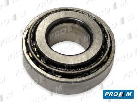 Pro//M Rodamientos 2031 - Rodamiento rueda delantera rodillos cónicos 15X45X15