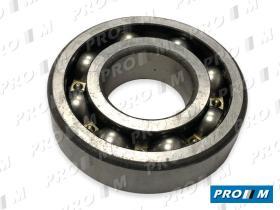 Pro//M Rodamientos 8099 - Rodamiento eje intermedio Fiat 20x52/57x22mm