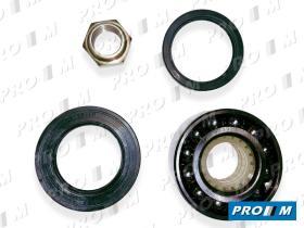 Pro//M Rodamientos K2612 - Kit rodamiento de rueda trasera Peugeot