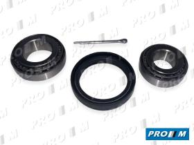 Pro//M Rodamientos K2909 - Kit rodamiento rueda delanteros Reanult 12 TS --80