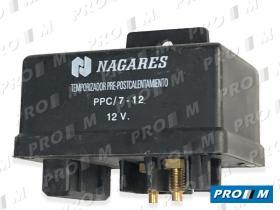 "Nagares MHG55 - Rele precalentamiento Citroen, Fiat, Peugeot 12V 5"""