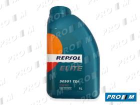 Repsol 1L ELITETDI - Aceite Repsol Elite TDI 5W40 1 Litro