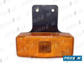 Rinder 17400 - Piloto lateral rojo rectangular cogida horizontal