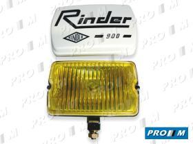 Rinder 90100 - FARO ANTINIEBLA AMARILLO 155X104X69 CON TAPA