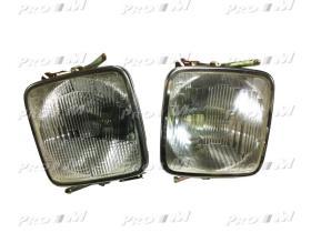 Valeo 029312 - Optica de faro larga Seat 1430-Pegaso