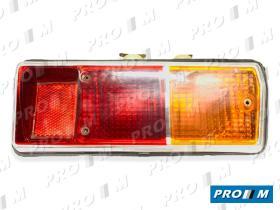 Iluminación (hasta '90) 0085310068 - Piloto trasero izquierdo marco cromado Renault 12 antiguo