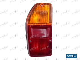 Iluminación (hasta '90) 0085600062 - Piloto trasero izquierdo Renault 12 Super (marco metálico)