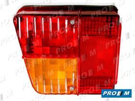 Iluminación (hasta '90) 0087600060 - Piloto trasero derecho marco cromado Citroen GS