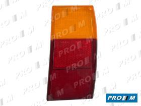 Iluminación (hasta '90) 1422920064 - Tulipa trasera izquierda Seat 131 Familiar