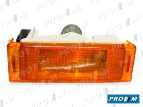 Iluminación 0122120041 - Piloto lateral ovalado universal rojo blanco