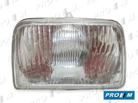 Hella 012000 - Óptica izquierda foco europeo Ford Fiesta -8/83