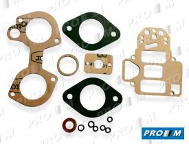 Juegos reparación carburador A3 - Juego de reparación carburador Alfa 33 Dellorto 36 DRLA