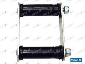 Caucho Metal 12574 - Goma punta barra estabilizadora Seat 127