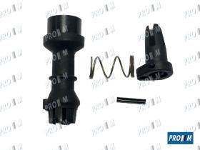 Caucho Metal 15087 - Racor tubo calefacción tres vias iguales Renault 10mm