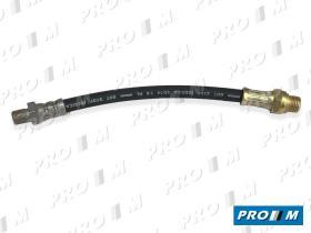 Caucho Metal LC-1893 - Latiguillo de freno trasero Citroen Saxo y AX 90-